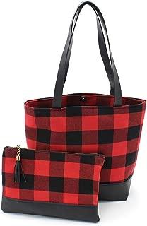 Best plaid tote handbags Reviews
