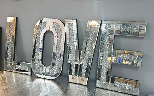 CMD Furniture Mirrored Diamond C...
