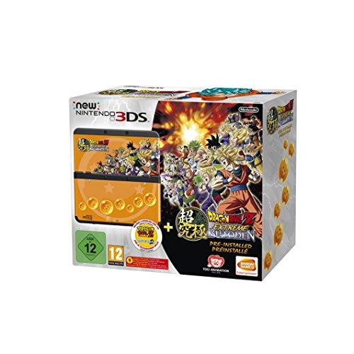 New Nintendo 3DS schwarz inkl. Dragon Ball Z: Extreme Butoden + Zierblende