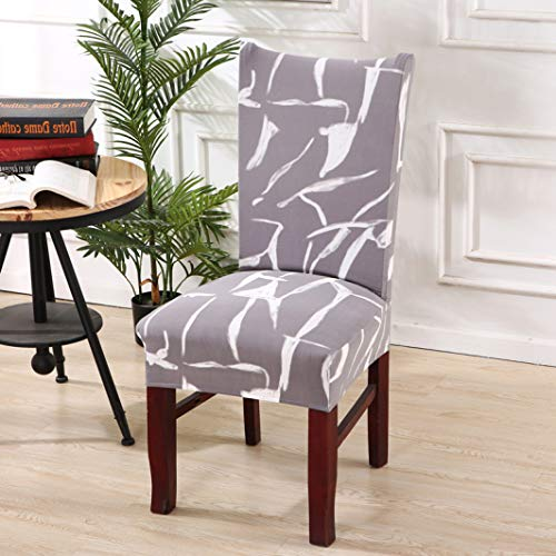 NIKIMI Fundas para sillas de Boda para Fundas de sillas de Comedor Fundas Protectoras elásticas para Muebles para Banquetes de Hotel