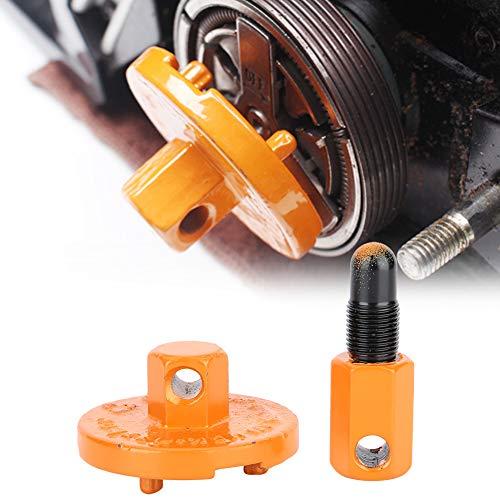 Herramienta de motosierra con tope de pistón, accesorios de motosierra estable, resistentes y duraderos de metal, motosierra fácil de usar para máquina de hierba