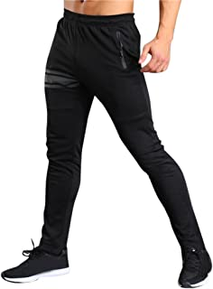 Men Long Casual Solid Sport Pants Gym Slim Fit Trousers Running Jogger Gym Sweatpants