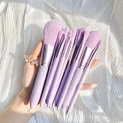 01 Purple Xixi 10pcs cepillo del maquillaje de belleza Herramientas de sombra...