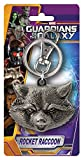 Marvel Rocket Raccoon Head Pewter Key Ring