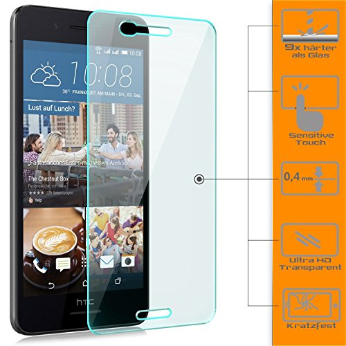 Saxonia 1x Displayschutzglas für HTC Desire 728G Dual SIM