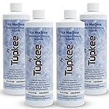 Tupkee Ice Machine Cleaner Nickel Safe - 16oz Ice Maker Cleaner, Universal for Affresh, Whirlpool 4396808, Manitowoc, Kitchenaid , Scotsman Ice Machine Cleaner and Sanitizer Descaler - Pack of 4