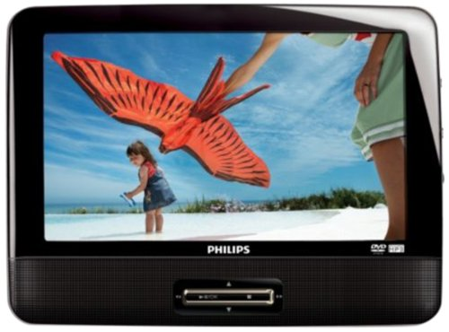 Best Prices! Philips PET9422/37 9 Dual Portable DVD Player with Widescreen LCD Display
