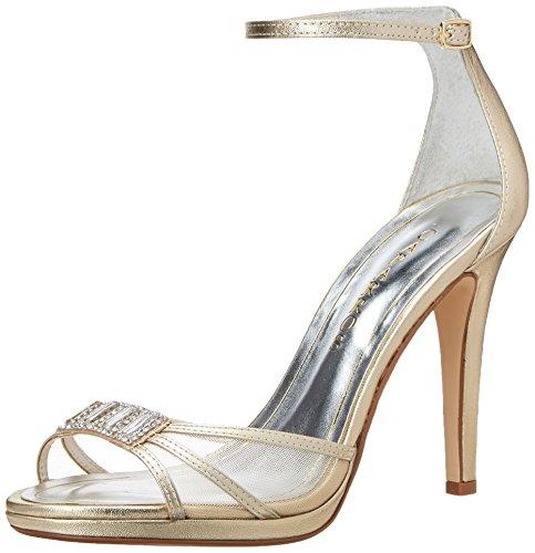 Caparros Women's Tyler Dress Sandal, Gold, 9.5 M US