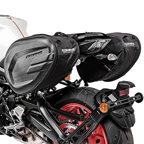 Borse Laterali CRB per Ducati Monster 797/796 / 750/696 / 695/620 / 600, Hypermotard 950/939 / SP, Monster 1200/ S/R, Scrambler / 1100 / Special, Monster 900/821 / 800, Xdiavel/S