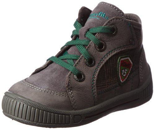 Superfit Baby Jungen Cooly Sneaker, Grau (Stone Kombi 06), 20