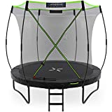 Kinetic Sports Gartentrampolin TUP800, 244 cm, Black