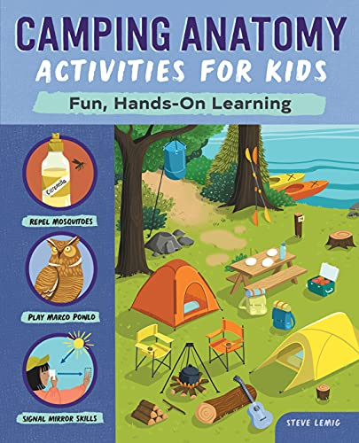 Camping Anatomy Activities for Kids: Fun, Hands-On Learning