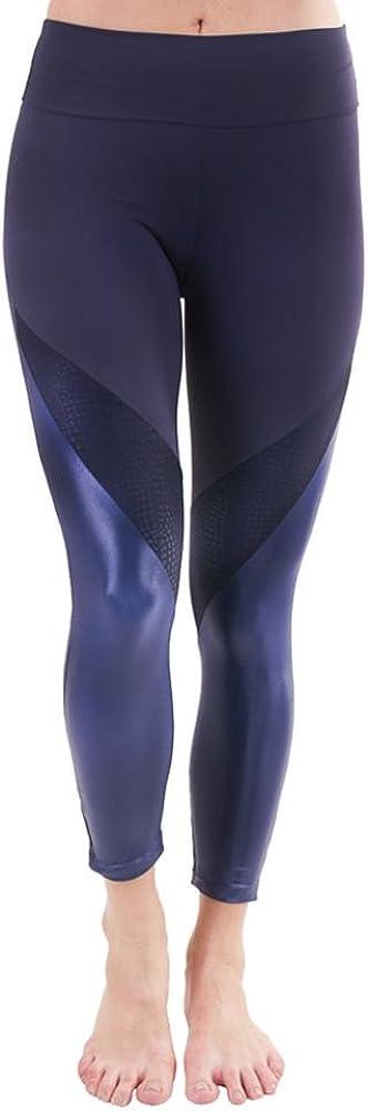 Liquido Active Women's Battle Legging Snake Navy Large -Final Sale