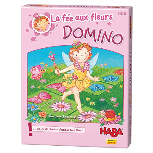 HABA-La Fée Aux Fleurs Domino, 302360