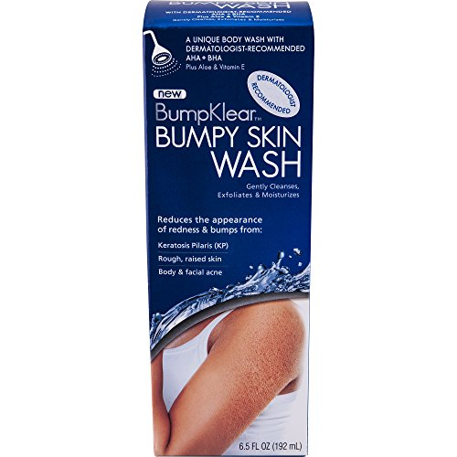 BumpKlear Bumpy Skin Wash - Body Wash for Rough, Bumpy Skin - with AHA + BHA, Plus Vitamin E &...