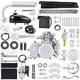 Anbull BT80 Electric Start Bike Engine Kit, 26' 28' 80cc Bicycle Engine Kit,2-Stroke Gas Motorized Bike Motor with Automatic Centrifugal Clutch