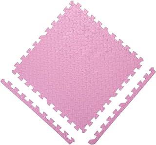 GUORRUI Foam Puzzle Mat Infant Crawling Mat Interlocking Floor Child Bedroom Splice Crawling Mat Patchwork Soft Non-slip,9...