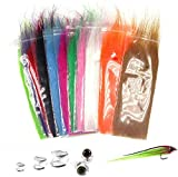 Best Fly Tying Materials - Greatfishing 12packs Mix Color Long Fiber Fly Tying Review