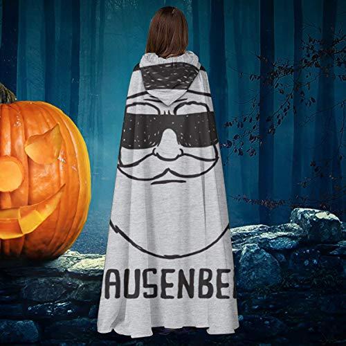 NULLYTG Clausenberg Navidad Heisenberg Breaking Bad Unisex Navidad Halloween Bruja Caballero con Capucha Bata de Vampiro Capa de Capa Cosplay Disfraz