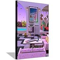 Kalifornischerトラウムキャンバス絵画ポスター壁アート印刷画像モダンなリビングルームの装飾寝室の壁アート