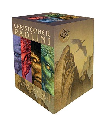 The Inheritance Cycle Series 4 Book Set Collection Eragon, Eldest, Brisngr