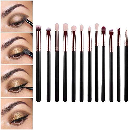 12pcs Brush Brushes Makeup Set Eyeshadow Eyeliner Eyes Cosmetic