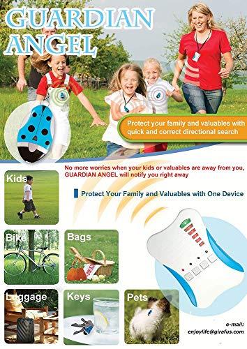 Girafus® Guardian Angel für 1 Kind Kinderfinder, Haustierfinder, Allesfinder mit Alarm Diebstahlschutz Abbildung 3