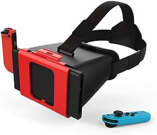 KADONNY NS Gafas VR Auriculares para Nintendo Switch Negro estéreo ...