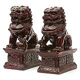 ORIENTAL FURNITURE 6'Fu Perro estatuas
