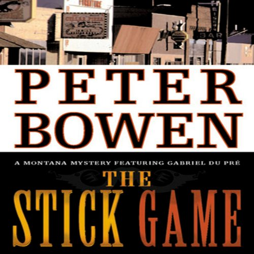 The Stick Game audiobook cover art
