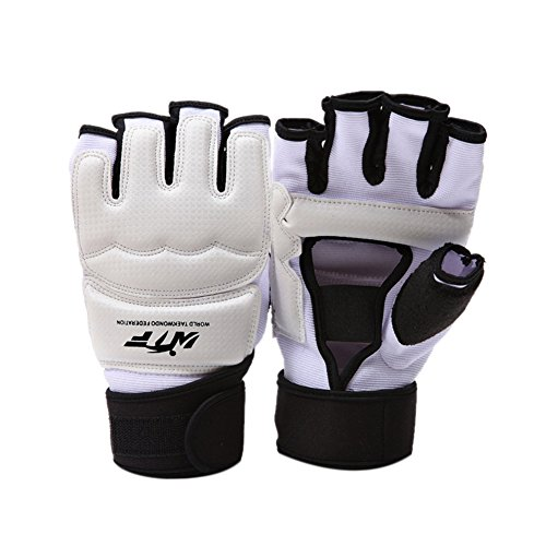 Zaote MMA UFC Boxing Taekwondo Handschuhe, WTF genehmigt Kampfkunst Boxsack Boxen Grappling Sparring Muay Thai Kickboxen Kampfhandschuhe für Training, Taekwondo, MMA, Kickboxen, Muy Thai, Boxen