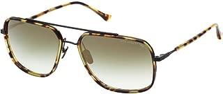 Dita Avocet-Two Sunglasses Matte Tokyo Tortoise-Black Carbon w/G-15 -Gold Flash-AR