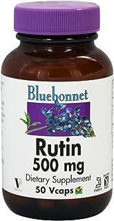 Bluebonnet Nutrition Rutin, 500 mg, 50 Vegetarian Capsules