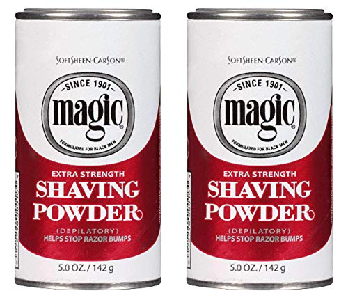 Magic Shaving Powder Red 5 Ounce Extra-Strength (145ml) (2 Pack)
