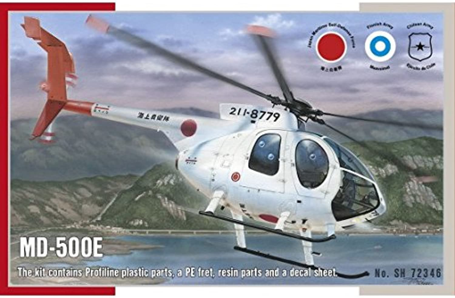 Special Hobby SH72346  Model Kit MD500E Helicopter