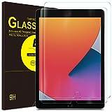 ELTD Protector de Pantalla para iPad 8/7(10,2 Pulgadas, Modelo 2020/2019, octava/séptima generación)/iPad Air 3 /iPad Pro (2017),Vidrio Templado Glass Film Protector de Pantalla para iPad 10.2,2 Pack