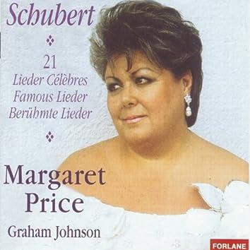 Franz Schubert : 21 Lieder célèbres (feat. Graham Johnson) [21 Famous Lieder]