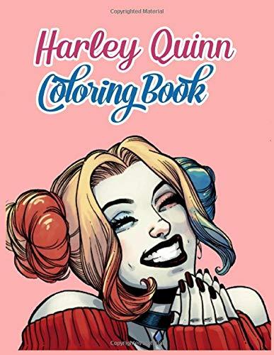 51+ojWcHVFL Harley Quinn Coloring Books