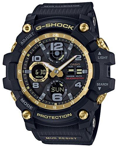 Casio G-Shock GWG-100GB-1AJF MUDMASTER Black & Gold Series Solar Radio Multiband 6 Uhr (Japanische Haushaltsprodukte)