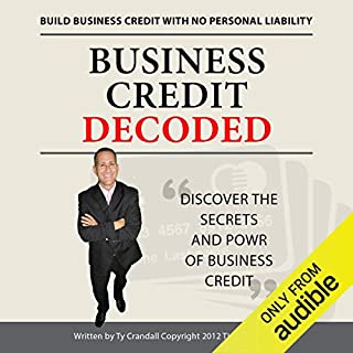 Business Credit Decoded audiobook cover art