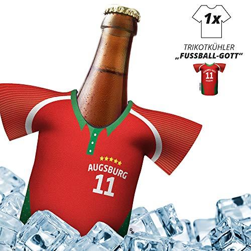 Herren Trikot 2019/20 kühler Home für. FCA-Fans | FUßBALL-Gott | 1x Trikot | Fußball Fanartikel Jersey Bierkühler by ligakakao.de