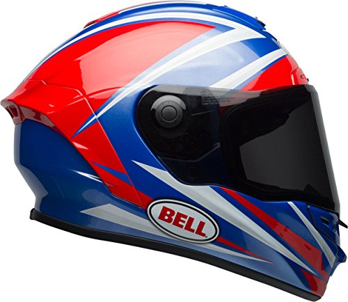 Bell Star, Casco per Moto Uomo, Torsion Red/Blue, M