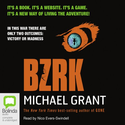 BZRK audiobook cover art
