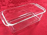PYREX 215 Deep Glass Baking Pan/Dish, Clear, 9