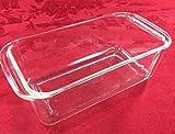 PYREX 215 Deep Glass Baking Pan/Dish, Clear, 9