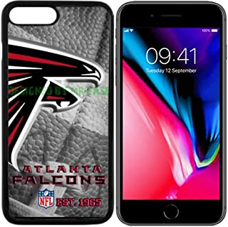 Falcons Atlanta Football New Black Apple iPhone 8 Case by Mr Case
