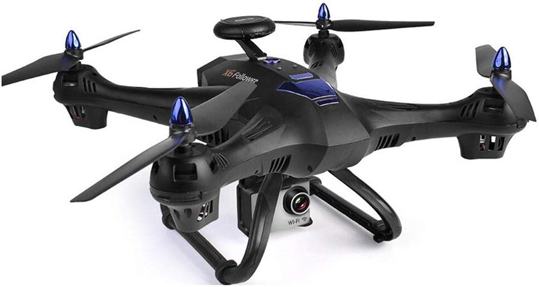 Ferndrone 4K HD Luftbildfotografie WiFi FPV, GPS-Positionierung Folgen RC Hubschrauber 5G 1080P Weitwinkel, High Hover,schwarz