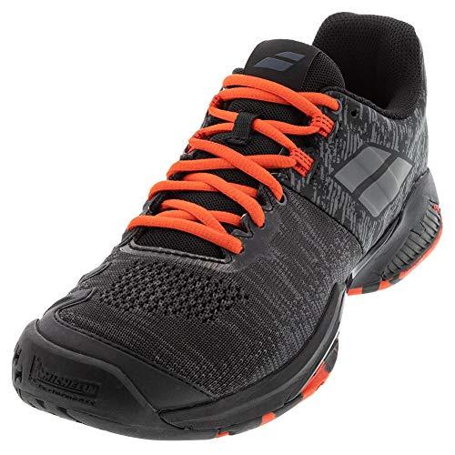 BABOLAT Propulse Blast AC Men, Zapatillas de Tenis Hombre, Black/Tomato Red, 44.5 EU