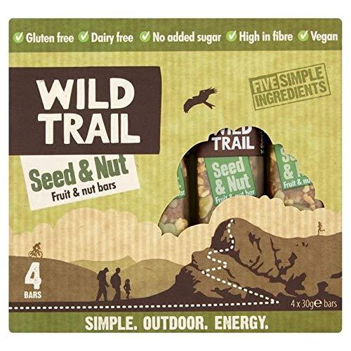 4x Wild Spur Samen & Nussfrucht & Mutter Bar 4 X 30G