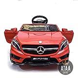 ATAA Mercedes GLA Coche eléctrico para niños batería 12v con Mando Padres teledirigido -...